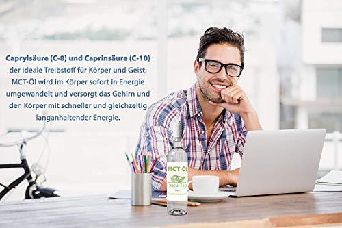 Keto Mct L Bulletproof Coffee 500ml Laborgeprft In Deutschland In Einer Glasflasche Geschmacksneutral Caprylsure C 8 Und Caprinsure C 10 Mct Oil