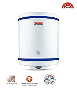 Sameer 25 Litre Spout Geyser Water Heater;BEE 5 Star Rating; ISI Marked