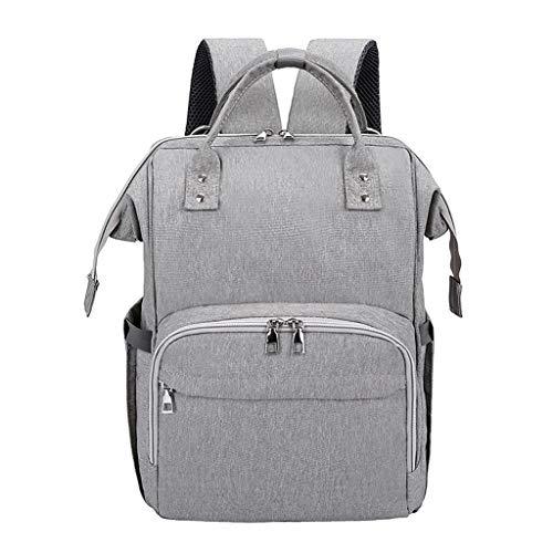 VJGOAL Damen Rucksack, Damen Herren Unisex USB Multifunktional Hochgradig Wasserdicht Rucksack Handtasche Hohe Qualität(Grau,One ()