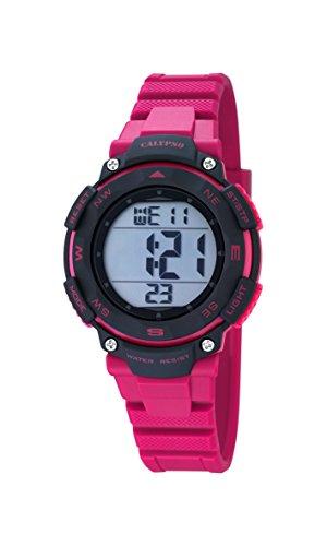 Calypso Unisex-Armbanduhr Digital Quarz Plastik K5669/2