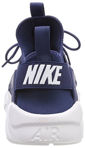 Nike Air Huarache Run Ultra, Baskets Homme, Blanc (Navy/White 409), 40.5 EU