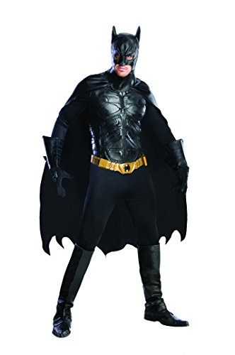 Batman The Dark Knight Rises Deluxe Kostüm - (Grand Kostüme Batman Heritage)