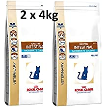 Royal CANIN verteri Nary Diet Feline Gastro Intestinal Moderate Calorie 2 x ...