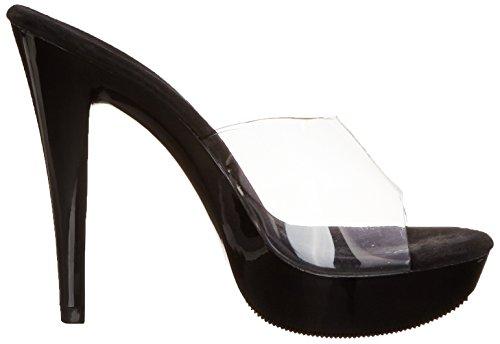 Blk Fabulicious Open Cocktail Toe Clr 501 Donna Sandali Uw0Hn8Uq