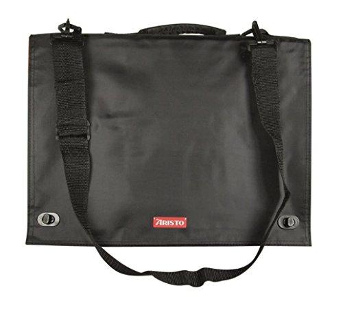 Aristo AR7063 Geo Board Carry Bag (Transporttasche für Zeichenplatten DIN A3) schwarz/rot (Boards Tasche Werfen)