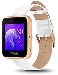 """SPC Smartee Slim - Smartwatch de 1.54"""" (IPS, Linux, Bluetooth 4.0 BLE) oro"""