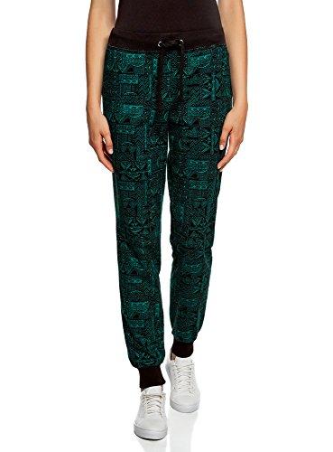 oodji Ultra Women's Jersey Trousers With Drawstrings