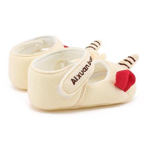 Igemy 1 Paar Neue Mode Baby Mädchen Soft Sole Karikatur Anti-Rutsch Baumwolle Kleinkind Schuhe Gelb