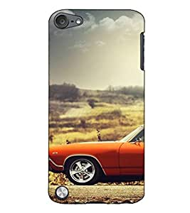 Fuson Designer Back Case Cover for Apple iPod Touch 5 :: Apple iPod 5 (5th Generation) (Antique car theme)