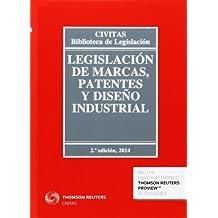Legislación de marcas, patentes y diseño industrial (Papel + e-book) (Biblioteca de Legislación)