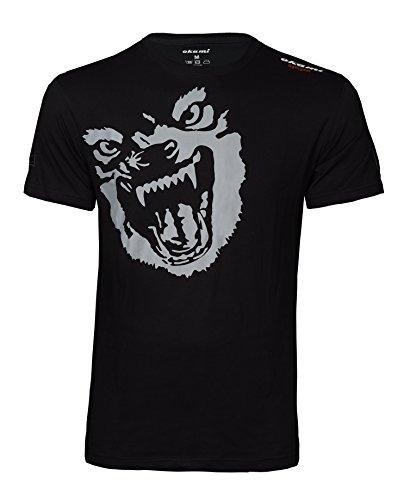 OKAMI Fightgear Herren Shirt Beast T-Shirt schwarz/Grau