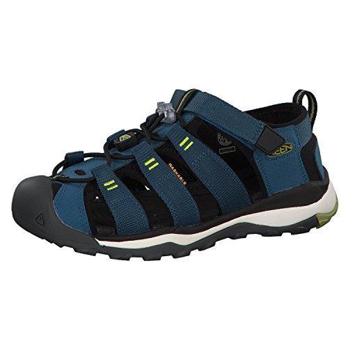 KEEN Newport Neo H2 Sandals Kids Legion Blue/Moss Schuhgröße US 8   EU 24 2019 Sandalen (Größe Kinder 8 Keens)