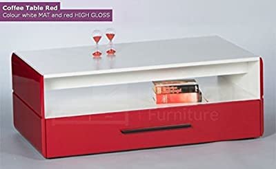 Red Small Set - Sideboard - Coffee Table - low-cost UK light store.