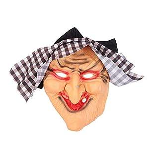 WZP-Máscara de Bruja clásica de