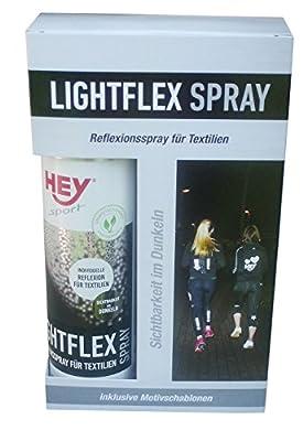 Hey Sport LIGHTFLEX Reflektionsspray 150 ml inklusive Motivschablonen