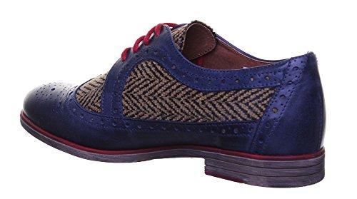 Justin Reece  6900, Chaussures de ville à lacets pour femme Navy XX12