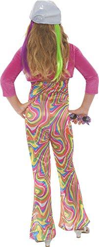 Imagen de groovy  disfraz de hippie para niña, talla l 9  11 años  33395l  alternativa