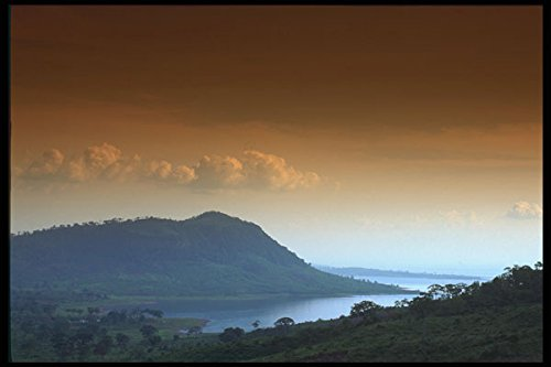 460026 Largest Artificial Lake Africa A4 Photo Poster Print 10x8