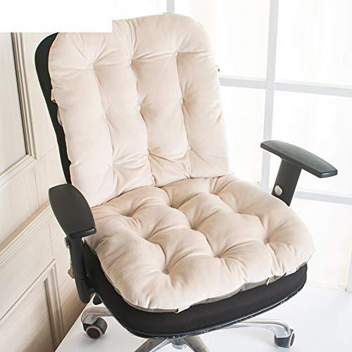 SS&LL EIN Kissen Kissen,Büro Studenten wohnheim Kissen Speisesaal Stuhl Kissen Home Auto Hintern pad-F 50x135cm(20x53inch) -