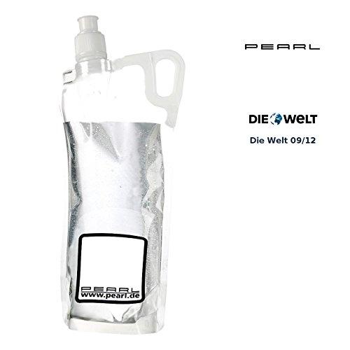 PEARL Faltbare Flasche: Faltbare Trinkflasche für Sport & Freizeit, 2 Liter (Faltbare Wasserflasche)