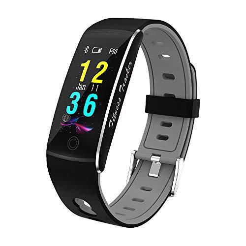Fitness Armband Mit HD Farbdisplay Clevere Fitness Aktivitäten Tracker IP67 Wasserdicht – Schwarz DoKii
