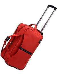 YAAGLE Schick Rollkoffer Reisetasche Handtasche groß Fassungsmögen Henkeltasche Schultertasche Umhängetasche