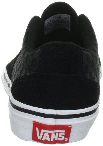 Vans Kress VNLFLEH Jungen Sneaker Schwarz ((Sketch Check) black/charcoal)