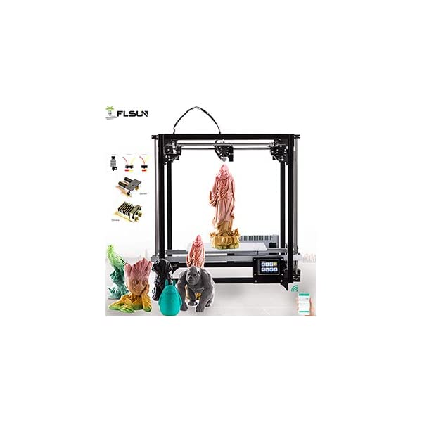 Flsun-F Cube Square High Precision Diy 3d printer With Auto-leveling Metal Frame