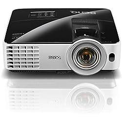 "BenQ MX631ST - Proyector DLP Tiro Corto (55"" a 1m). XGA Zoom 1.2X. 3200 lumens, Altavoz 10X Incorporado, HDMI, Color Negro"