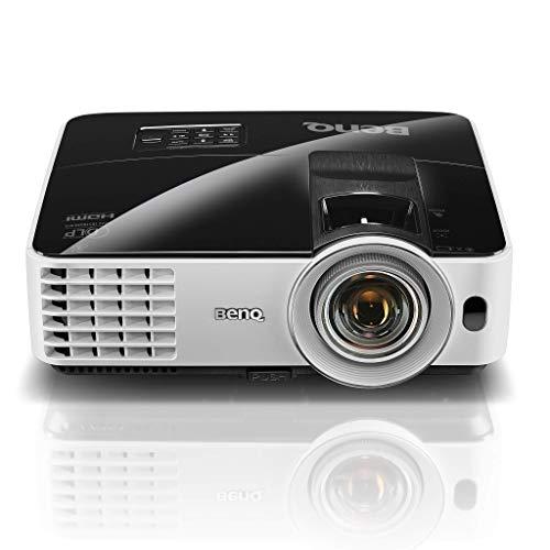 BenQ MX631ST Kurzdistanz DLP-Projektor (XGA, 3.200 ANSI Lumen, 13.000:1 Kontrast, 1024 x 768 Pixel, HDMI/MHL, Lautsprecher, 3D)