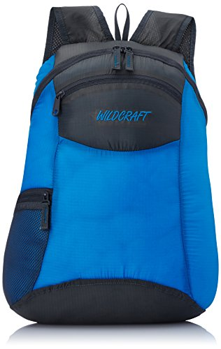 Wildcraft Pac n Go Daypack 18 Ltrs Blue and Grey Kids Packable Bag (5-8 years age)  available at amazon for Rs.521