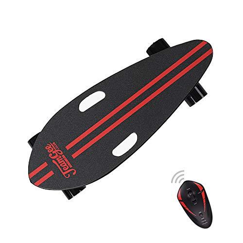 Maxfind Electric Skateboard Mini 400w Motor de Rueda sin escobillas 18650 Batería de Litio Duración 15 km, Control Remoto inalámbrico...