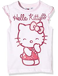 Hello Kitty Girl's Chuckle Short Sleeve Crew Neck T-Shirt