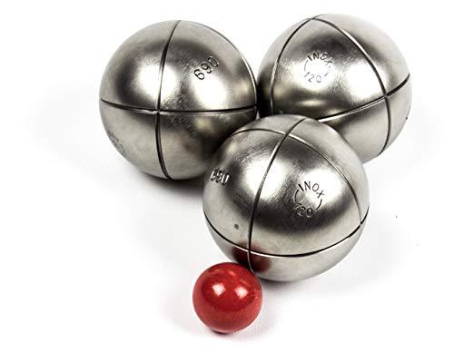 Profi Boule Kugeln Set - 3 edle Allrounder Kugeln zu je 690 Gramm