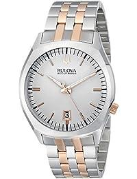 Bulova Accutron II Analog Silver Dial Men's Watch - 98B220