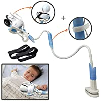 Ÿolle | support universel pour moniteur pour bébé avec sangles | souple Baby Camera Support étagère | sans perçage | support de moniteur de sécurité pour votre bébé