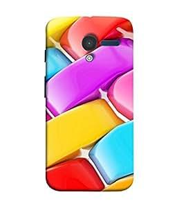 PrintVisa Designer Back Case Cover for Motorola Moto X :: Motorola Moto X (1st Gen) XT1052 XT1058 XT1053 XT1056 XT1060 XT1055 (Colourful Girly Bangles Design)