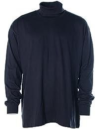 Tom Rusborg - Camiseta de manga larga - Cuello tortuga - Manga Larga - para hombre