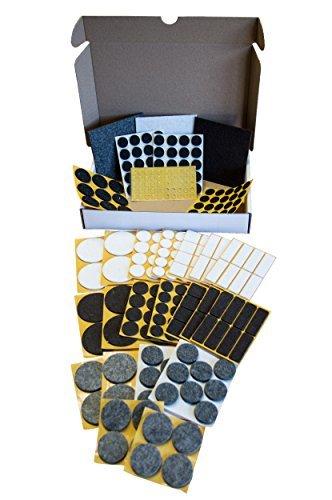 peha® Filzgleiter,- Antirutsch,- Elastikpuffer, - Bodenschutz-SET | 21 Sorten | 306-teilig