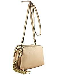 613cef2a4eca Amazon.co.uk  Gold - Cross-Body Bags   Women s Handbags  Shoes   Bags