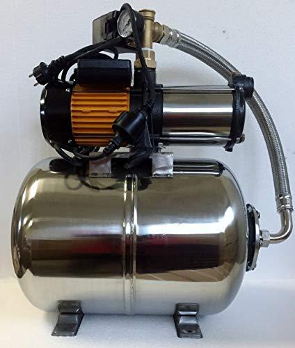 Hauswasserwerk megafixx S5-50ES 1100 Watt 50 Liter Edelstahl Druckkessel