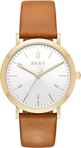 DKNY Damen-Armbanduhr NY2613 (Leder Uhren Dkny Damen)