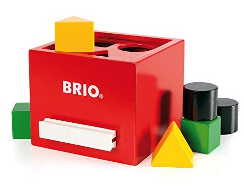 BRIO 30148 - Rote Sortier-Box (Sb Spiel H)