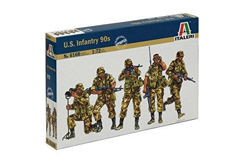 Italeri 6168 - u.s. infantry 90s modellismo soldatini scala 1:72