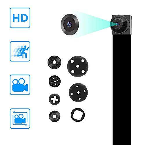 Nota: El uso del cargador 5V1A.La cámara espía no tiene capacidades wifi.Cámara oculta HD 1080P, te trae una imagen de video nítida. El tamaño es muy pequeño. Cabrá fácilmente en un bolsillo o se ocultará en algunos lugares que no se notarán. Esta cá...