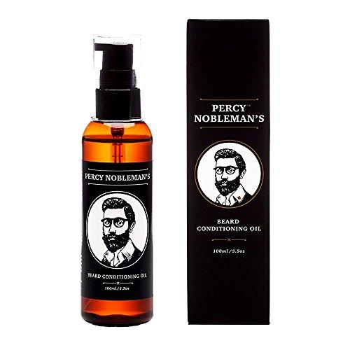 Olio da barba - Olio da barba con balsamo di Percy Nobleman - Un ammorbidente per la barba e un potente balsamo da uomo (100ml)