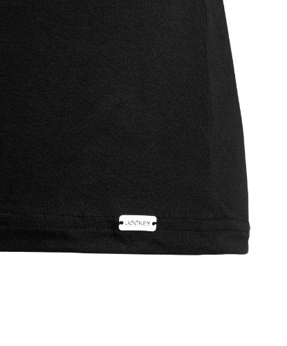 Jockey® Herren, Modern Stretch A-Shirt, 22452811 Schwarz