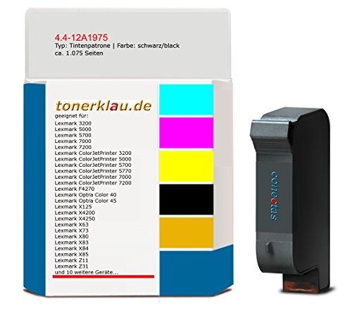 kompatibel Tintenpatrone 4.4-12A1975 für: Lexmark Z82 als Ersatz für Lexmark 12A1975 -