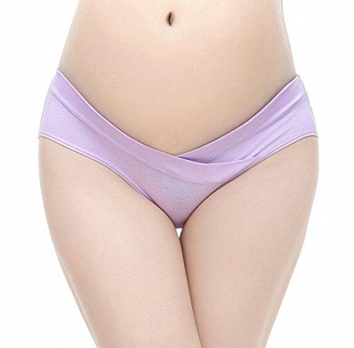 portail Femme Slip de grossesse pour sous le Baby bauchs Lot de 3 Pink Blue Green