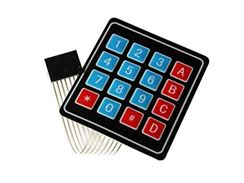 1 Unidades Teclado Matriz Membrana 4x4 Modulo Teclado